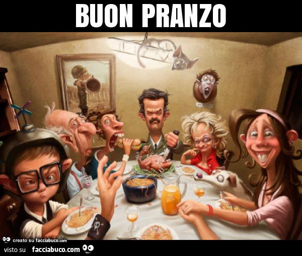 Buon pranzo - Facciabuco.com