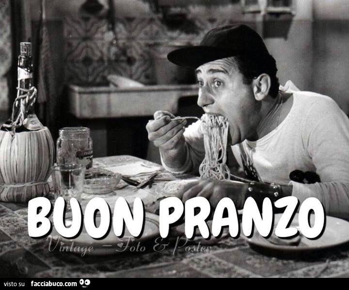 Favoloso Alberto Sordi mangia gli spaghetti. Buon pranzo condiviso da  BO68